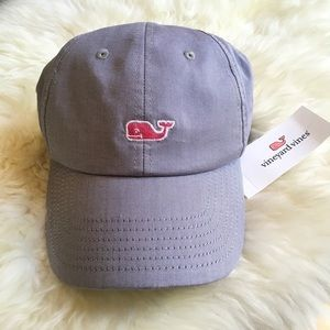 Vineyard Vines Oxford Baseball Hat New Moonshine